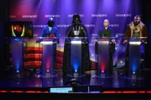 Movie Villains in a Political-Style Debate
