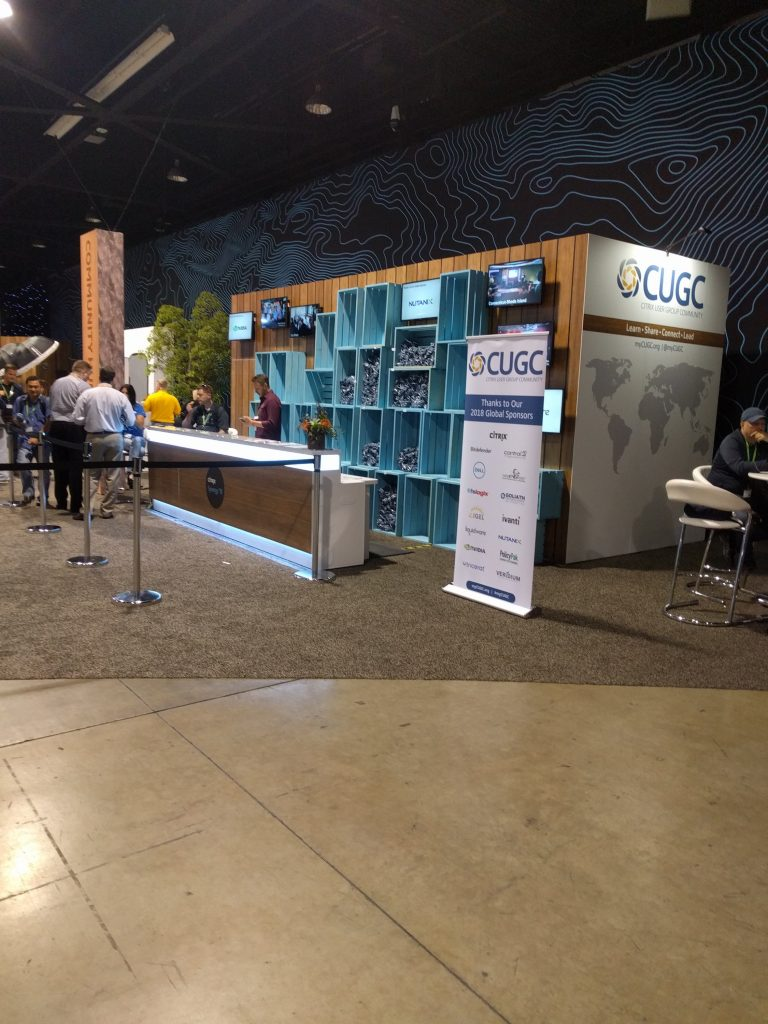 CUGC Booth at Synergy