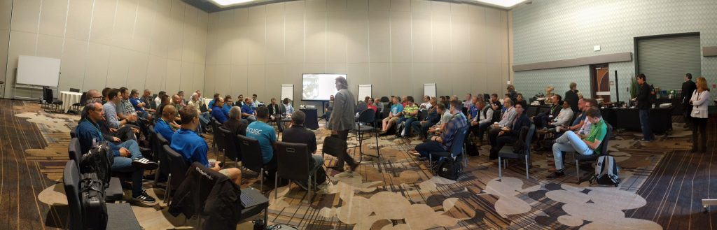 Panoramic view of CTAs and CTPs gathered at Citrix Synergy