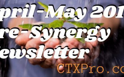 April+May 2019 Pre-Synergy Newsletter