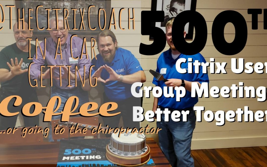 Better Together – Celebrating CUGC 500!