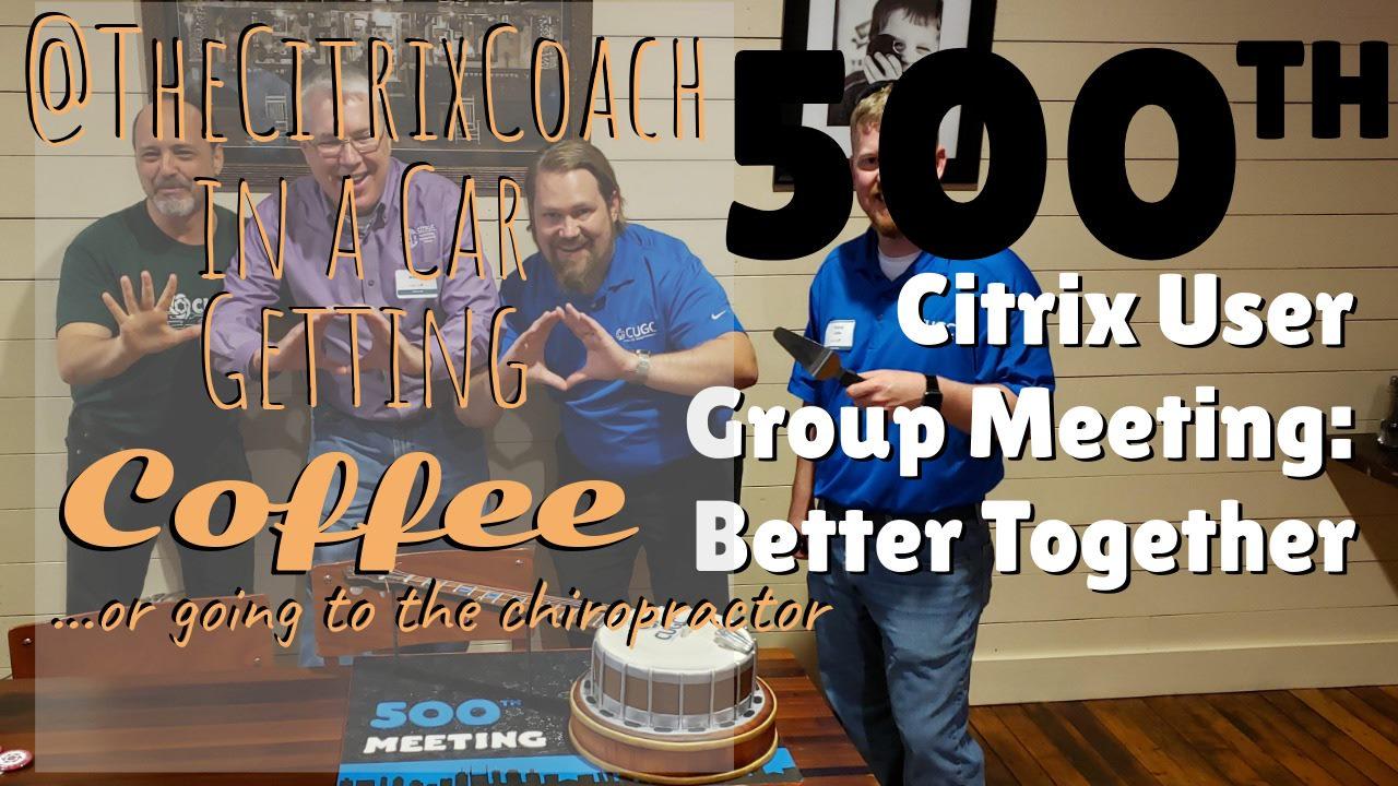 Better Together – Celebrating CUGC 500!