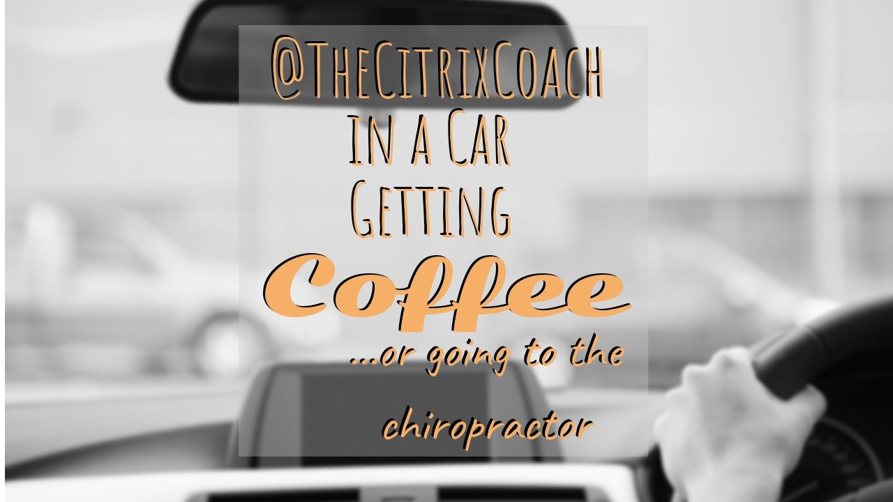 Is Coaching a Good Fit for me? – Citrix Coach in an Airport